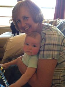 Avery with her Nana