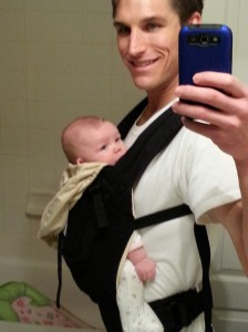 In the Ergobaby Original Carrier