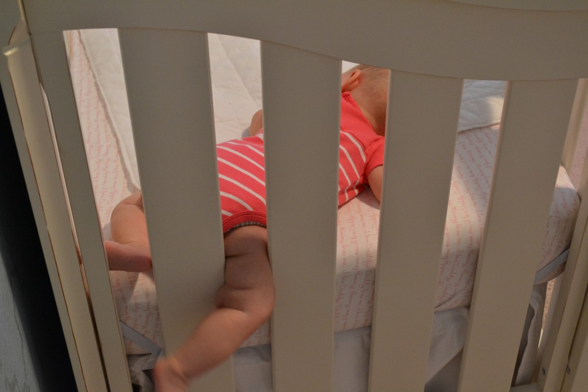 Crib dangers for babies - From Reading About The Dangers Of Crib Bumpers We Didn T Want To Put Avery At Risk Of Suffocation But Luckily We Found A Breathable Mesh Crib Liner To