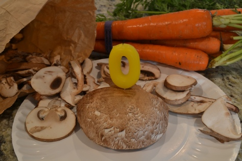 portabella mushroom cake